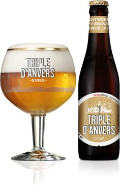Triple D'anvers from De Koninck. Obviously a triple beer, nice well rounded flavour.