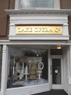 Cake Opera Co. Store Front