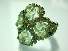 My Daily Bead: Four-Leaf Clover (Good Luck) Ring