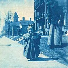 F. Scott Fitzgerald and his mother on Laurel Avenue in approximately 1897. Courtesy Minnesota Historical Society