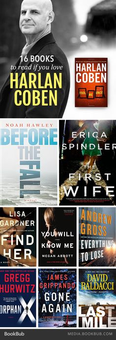 16 thrillers to read if you love Harlan Coben.