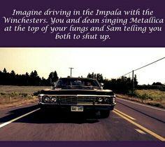 Dean, Emma shut it I'm reading-Samuel (nickname Emma gave to Sam) Supernatural Imagines, Supernatural Memes, Winchester Boys, Super Natural, Destiel, Superwholock, Best Shows Ever, Shut Up, Told You So