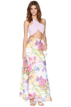 Yumi Kim Ariel Maxi Skirt | Shop What's New at Nasty Gal