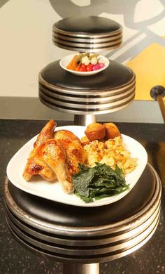 Half chicken with two sides, $11; whole chicken, $14; Rotisseur, 100 1/2 S. 21st St.,