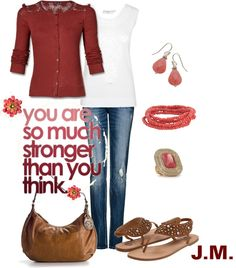 """""""Stronger"""" by jenniemitchell ❤ liked on Polyvore"""