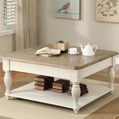 Nebraska Furniture Mart – Riverside Square Lift-Top Coffee Table