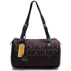 $65.  Perfect Michael Kors Logo Large Coffee Shoulder Bags, Perfect You