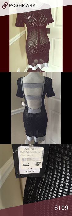 Nanette Lepore Crazy Wild dress Black NWT XS This dress is Black. The pics of the white one is just to show fit. NWT Nanette Lepore Dresses