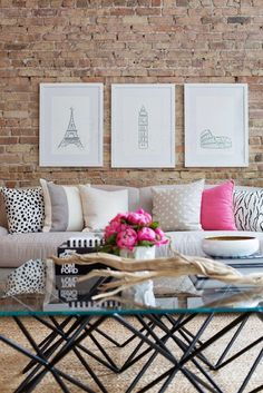 TOP THIS TOP THAT: How to use pink in your decor....and make it work