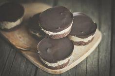 Chocolate Caramel Brownie Cups