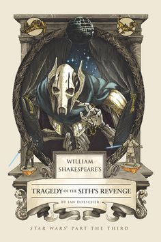 Exclusive book cover reveal of final Shakespeare 'Star Wars' prequel parody!