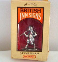 Vintage & Antiques - Community - Google+ 1975 Vintage Matchbox Lesney Heritage British Inn Signs