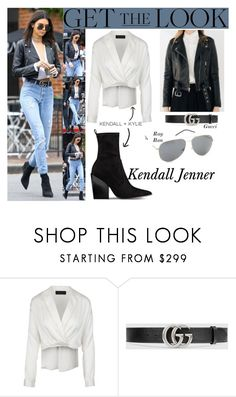 """Kendall Jenner Leaving Alfred Coffee In Beverly Hills CA December.15.2016"" by valenlss ❤ liked on Polyvore featuring LAER, Gucci and Kendall + Kylie"