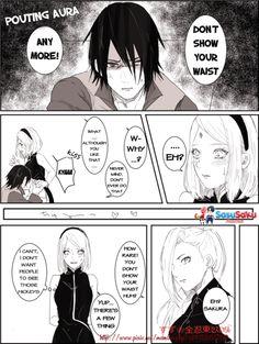 Imagem de sakura, sasuke, and sasusaku