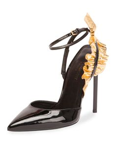 59666e8f59b Saint Laurent heels Ysl Heels, Stiletto Heels, Shoes Heels, Womens High  Heels,