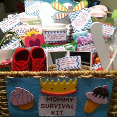 Mommy Survival kit and babyshower idea ;)
