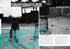 magazine layout # skateboarding
