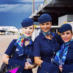 Azul Airlines Crewfie