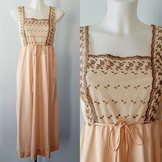 A personal favorite from my Etsy shop https://www.etsy.com/ca/listing/271143060/vintage-nightgown-vintage-1960s