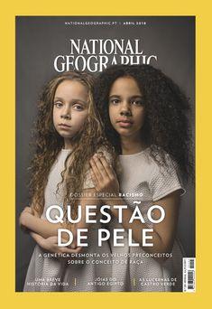 """As gémeas """"milagre"""" de raças diferentes que são a capa da National Geographic"""