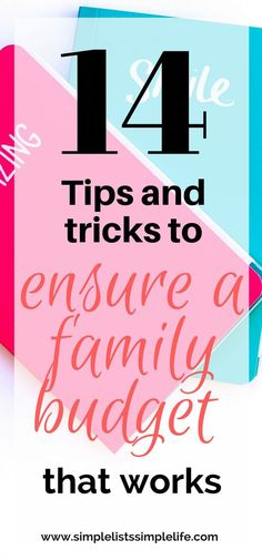 Plan a budget for your family that works. Use these tips and tricks to ensure a budget plan that works for your family. Use the budgeting printables to jumpstart your family's monthly budget. #budgeting #budgetingtips #budgetingprintables