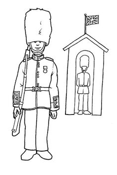 Coloring pages england 5