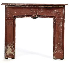 old painted in colors fireplace mantel pictures | Architectural Items > Wood > Mantles