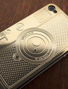 L4 Gold iPhone Case — Luxe Plates