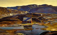 Summer Greenland by Rockwell Kent