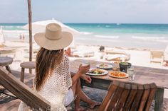 When we were offered theone of a kind opportunityof dining at nomaTulum withAmerican Express, we knew we couldn't pass it up. We had heard such great things about Tulum, the incredible beach, the cenotes, the Mayan ruins and most importantly, the food. So we decided to add on ...