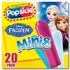 The Original Brand Popsicle Disney Frozen Mini Ice Pops - Candy Theme Birthday Party, Frozen Theme Party, Baby Doll Nursery, Baby Dolls, Muñeca Baby Alive, Disney Frozen Birthday, Frozen Characters, Kids Makeup, Candy