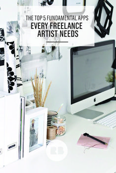 The top 5 apps that every freelance artist needs—tools to manage your time, data, clients, and social media and make life majorly simpler.