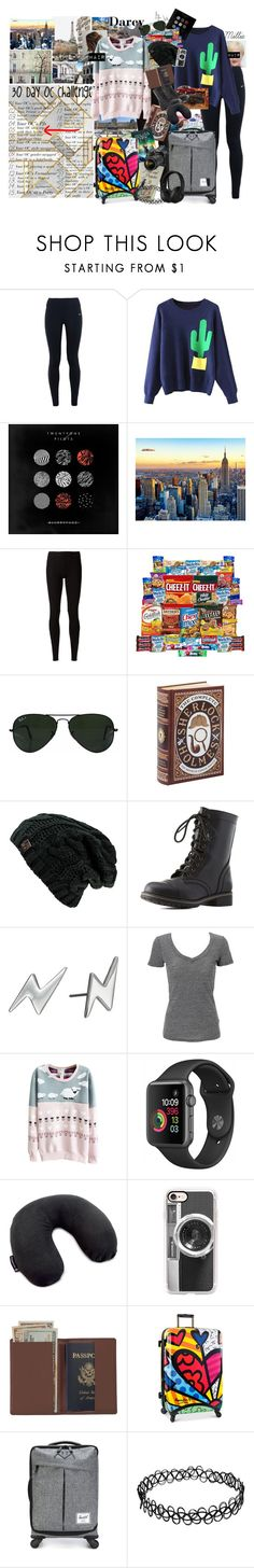 """""""30 Day OC challenge: Day five"""" by potato-cloud on Polyvore featuring NIKE, Baker & Taylor, Rick Owens Lilies, Ray-Ban, Colosseum, Charlotte Russe, Marc by Marc Jacobs, Simplex Apparel, Victorinox Swiss Army and Casetify"""