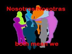 Do Re Mi: Spanish Personal Pronouns