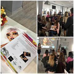 Presentación EVAM Escuela Modelos y Azafatas/ Ana Salmeron – In-Out Style
