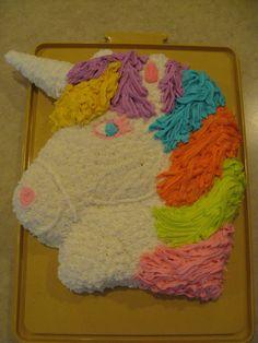 Cupcake Cake Unicorn Alannah