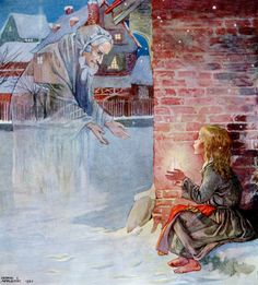 Story Book Sundays – The Little Match Girl – Illustrated by Honor C. Appleton – 1922