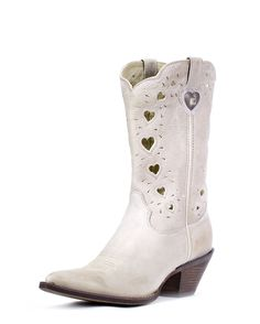 """I would do almost anything for three... Durango Women's 11"""" Crush Heartfelt Boots - Light Taupe"""