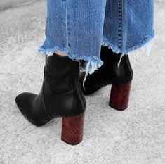 Heeled boots @jacintachiang