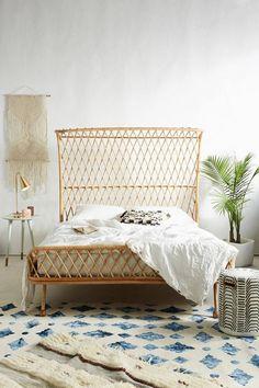 anthropologie bed frame