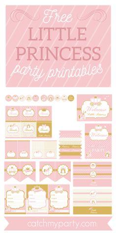Princess Birthday Party Decorations, Princess Party Favors, Princess Invitations, Hedgehog Birthday, Pokemon Birthday, Pokemon Party, 3rd Birthday, Birthday Banner Design, Party Printables