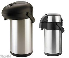 Airpot #drinks #dispenser tea coffee hot water #flask catering urn 2.5 or 5 ltr n,  View more on the LINK: http://www.zeppy.io/product/gb/2/141931404468/
