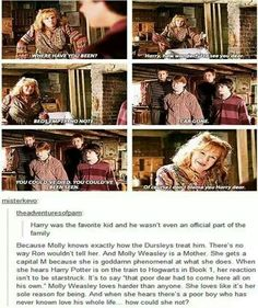 Molly Weasley - Quite possibly the most beloved under appreciated character