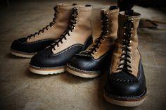 Job masterの中でも人気なカスタム、ブラック&バーラップ。  どちらも表革で、経年によるエイジングが楽しめます。 今からのバイクシーズンに間に合うようサイズをご用意しました。 Leather: Black&Burlap  S...