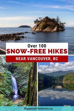Use this list of hiking trails near Vancouver, BC to find trails that you can hike all-year. This list of over 100 trails is perfect for hiking in spring, fall, and winter since the trails are low elevation and will not have any snow. Spring hikes in Vancouver. Snow-free hikes in Vancouver. Where to hike in Vancouver in spring. Columbia Outdoor, Vancouver Travel, Visit Canada, Road Trip Hacks, Backpacking Tips, Destin Beach, Best Hikes, Outdoor Adventures, Canada Travel