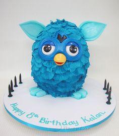 #cute #furby #cake