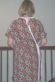 DIY Hospital Maternity Gown