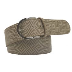 Tailored Sportsman A Mazing Belt THE TAILORED SPORTSMAN™ A Mazing Belt features an allover diamond pattern on long-lasting Clarino and a simple silver buckle. Fits perfectly in the Trophy Hunter belt loops. Genuine leather, Handmade in Italy. Tailored Sportsman, Diamond Pattern, Belt, Silver, Leather, Accessories, Fashion, Belts, Moda