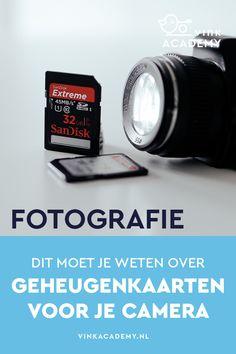 Geheugenkaart voor je camera: alles wat je moet weten
