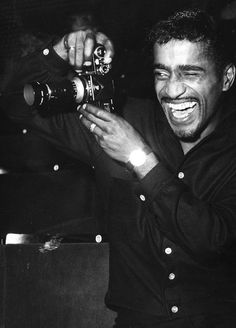 Sammy loved photography and never missed an opportunity to use his lens.